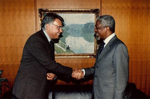 Presidente de la Fundación Progreso Global.